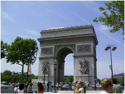 valokuva Ranska Pariisi riemukaari loma matka