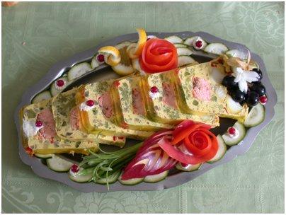 ranskalainen ruoka basilikalohimureke ranskalainen keitti� Ranska Chamonix loma matka