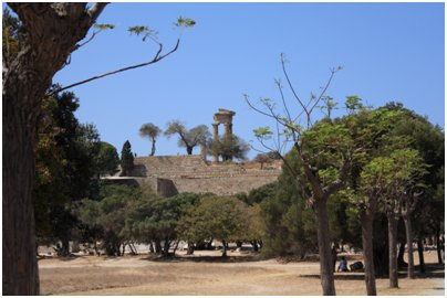 Kreikka Rodos Apollon temppeli