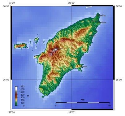 Kreikka Rodoksen saari