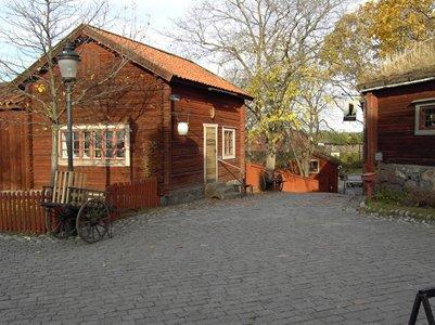valokuva Tukholman Skansenin ulkoilmamuseo ja el�intarha