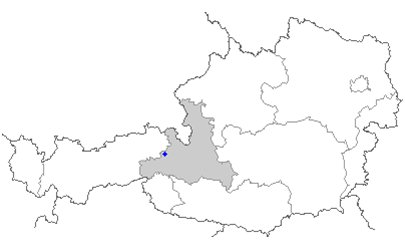 kartta kuva Alpit Saalbach-Hinterglemm It�valta