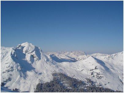 kuva Alpit Saalbach-Hinterglemm Spielberghorn loma matka Itävalta