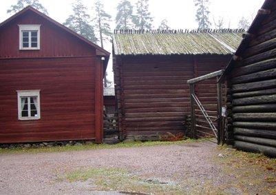 Antin maatila Helsingissä Seurasaaren ulkoilmamuseossa Suomi