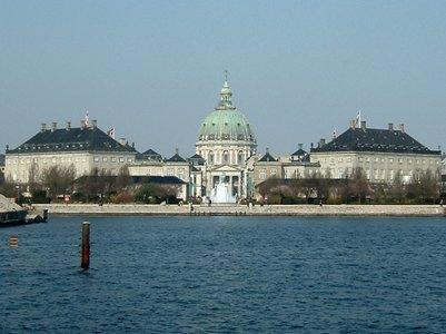 Amalienborg linna Kööpenhamina Tanska loma kuva