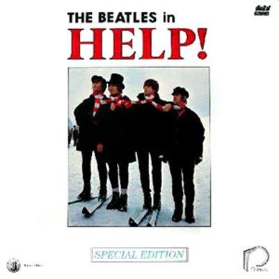 The Beatlesin Help-levyn kansikuva