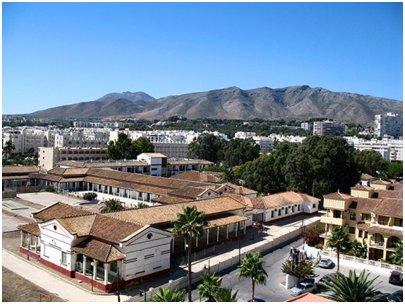 Espanja Costa del Sol Malaga Torremolinos Mijas-vuoristo