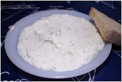 Kreikka Rodos kreikkalainen keittiö tsatsiki salaatti kreikkalainen ruoka