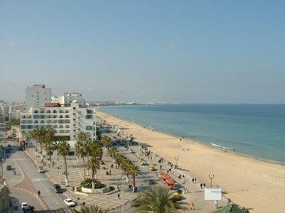 kuva Sousse Tunisia Sussa Plage hiekkaranta loma matka
