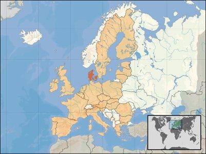 Kartta tanska